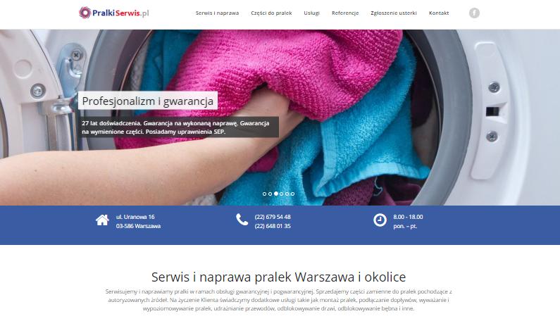 Naprawa pralek strona internetowa